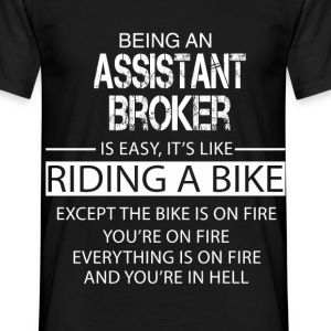 Assistant Broker T-Shirts - Men's T-Shirt