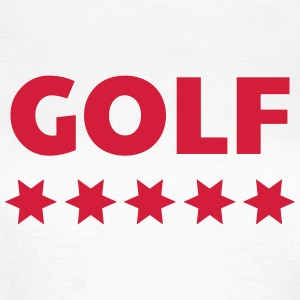 Golf - Sport - Golfer - Club - Green - Game - Play T-shirts - T-shirt dam