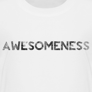 Awesome Grunge Bold Splat Text  Shirts - Teenage Premium T-Shirt