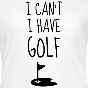 Golf - Sport - Golfer - Club - Green - Game - Play Camisetas - Camiseta mujer