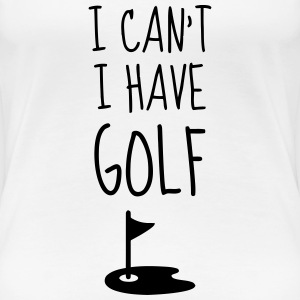 Golf - Sport - Golfer - Club - Green - Game - Play T-Shirts - Women's Premium T-Shirt