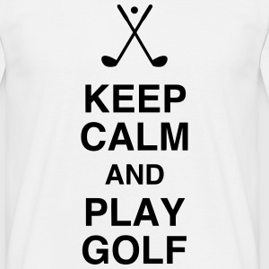 Golf - Sport - Golfer - Club - Green - Game - Play T-shirts - Herre-T-shirt