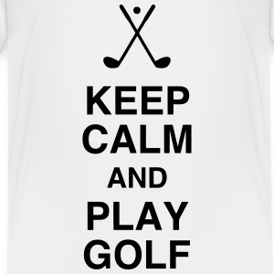Golf - Sport - Golfer - Club - Green - Game - Play Shirts - Teenage Premium T-Shirt