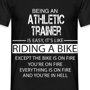 Athletic Trainer T-Shirts - Men's T-Shirt