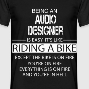 Audio Designer T-Shirts - Men's T-Shirt