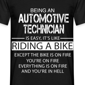 Automotive Technician T-Shirts - Men's T-Shirt