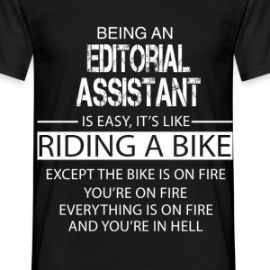 Editorial Assistant T-Shirts - Men's T-Shirt