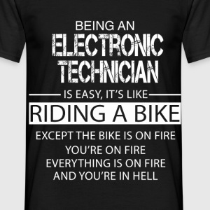 Electronic Technician T-Shirts - Men's T-Shirt