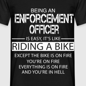 Enforcement Officer T-Shirts - Men's T-Shirt