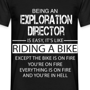 Exploration Director T-Shirts - Men's T-Shirt