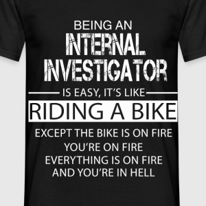 Internal Investigator T-Shirts - Men's T-Shirt