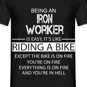 Iron Worker T-Shirts - Men's T-Shirt