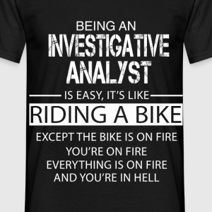 Investigative Analyst T-Shirts - Men's T-Shirt