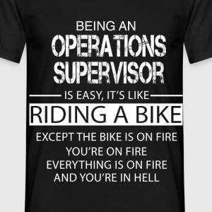 Operations Supervisor T-Shirts - Men's T-Shirt