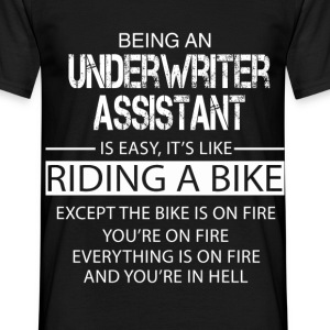 Underwriter Assistant T-Shirts - Men's T-Shirt