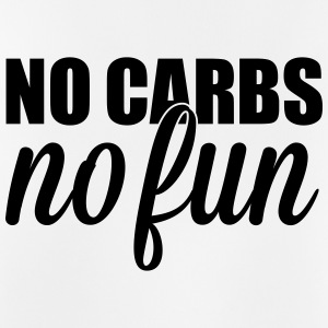 no carbs no fun Sportsklær - Pustende singlet for menn