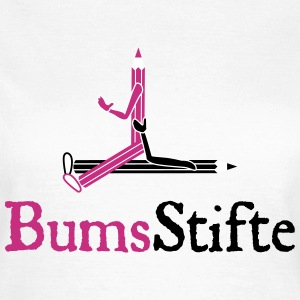 bumsstifte 09 T-Shirts - Frauen T-Shirt
