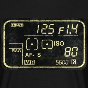 Retro-Display T-Shirts - Männer T-Shirt