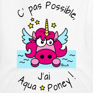 Sweat Enfant Licorne Pas possible, J'ai aquaponey - Pull à capuche Premium Enfant
