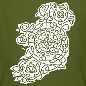 Celtic Map of Ireland T-Shirts - Männer Bio-T-Shirt