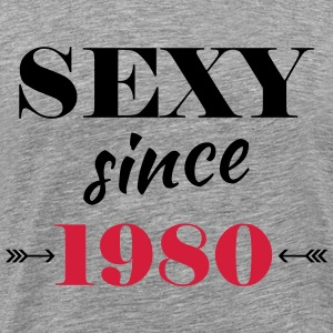 Sexy since 1980 Tee shirts - T-shirt Premium Homme