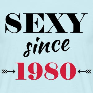 Sexy since 1980 T-shirts - Herre-T-shirt