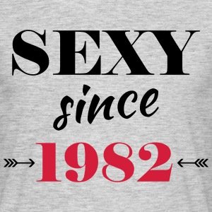 Sexy since 1982 T-shirts - Herre-T-shirt