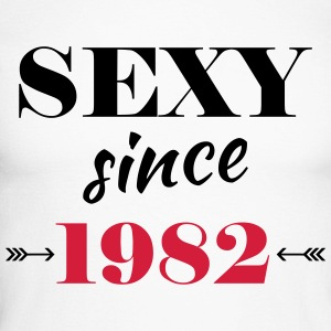 Sexy since 1982 Long sleeve shirts - Men's Long Sleeve Baseball T-Shirt