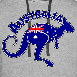 Australia 04 Sweat-shirts - Sweat-shirt à capuche Premium pour hommes
