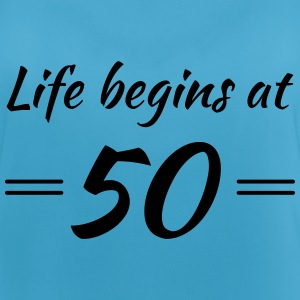 Life begins at 50 Sports wear - Women's Breathable Tank Top