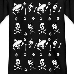 skulls panel Tee shirts - T-shirt Enfant