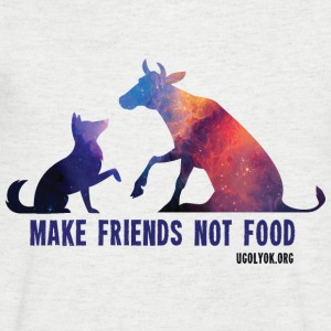 Make Friends Not Food #2 - T-shirt Homme col V