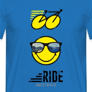 SmileyWorld RIDE Bike - Maglietta da uomo