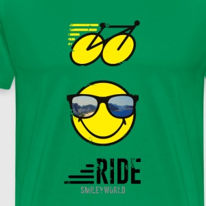 SmileyWorld RIDE Bike - Men's Premium T-Shirt