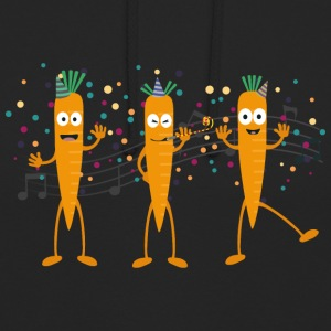 Party carrots Hoodies & Sweatshirts - Unisex Hoodie