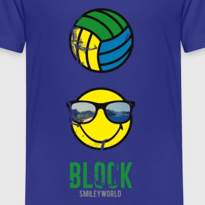 SmileyWorld BLOCK - T-shirt Premium Enfant