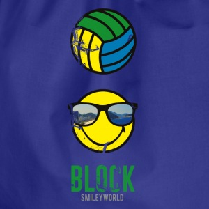SmileyWorld BLOCK Volleyball - Turnbeutel