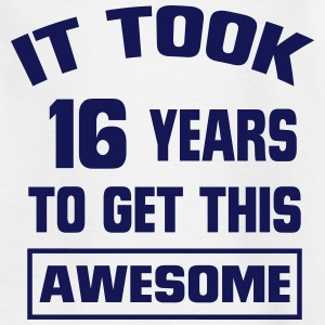 IT HAS TAKEN 16 YEARS TO SO BLATANTLY TO BE! Shirts - Teenage T-shirt