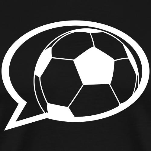 Fussball Sprechblase
