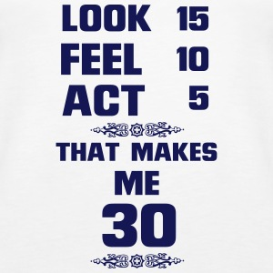 AT THE AGE OF 30! Tops - Women's Premium Tank Top