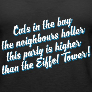 This party is higher than the Eiffel Tower - full  Tops - Women's Premium Tank Top