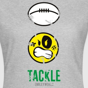 SmileyWorld TACKLE Rugby - Dame-T-shirt