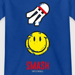 SmileyWorld SMASH that shuttlecock - Teenager-T-shirt
