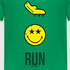 SmileyWorld RUN Fast - Teenager premium T-shirt