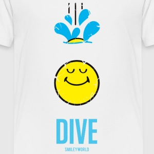 SmileyWorld DIVE Deep - Premium-T-shirt tonåring
