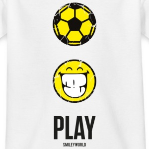 SmileyWorld PLAY Football - Teenager T-shirt