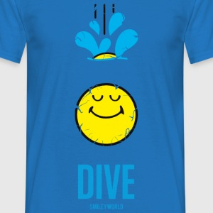 SmileyWorld DIVE Deep - Herre-T-shirt