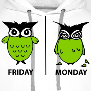 friday and monday Pullover & Hoodies - Männer Premium Hoodie