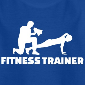 Fitness Trainer T-Shirts - Kinder T-Shirt