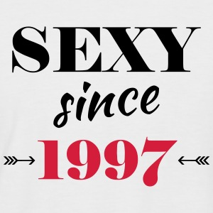 Sexy since 1997 Tee shirts - T-shirt baseball manches courtes Homme
